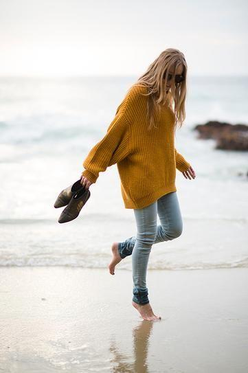 687c4b7974 25 Ways to Pull Off an Oversized Sweater This Fall